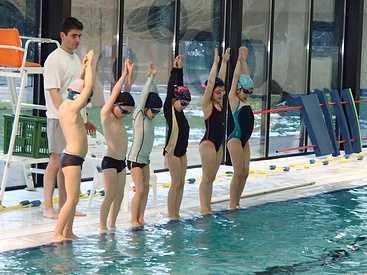 Comment se déroule une séance de piscine pour les 6/8ans 0