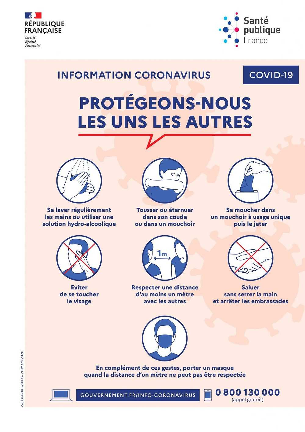 RECOMMANDATIONS SANITAIRES 0