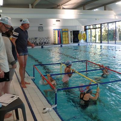 Rencontre sportive inter-groupe de la section des nageurs