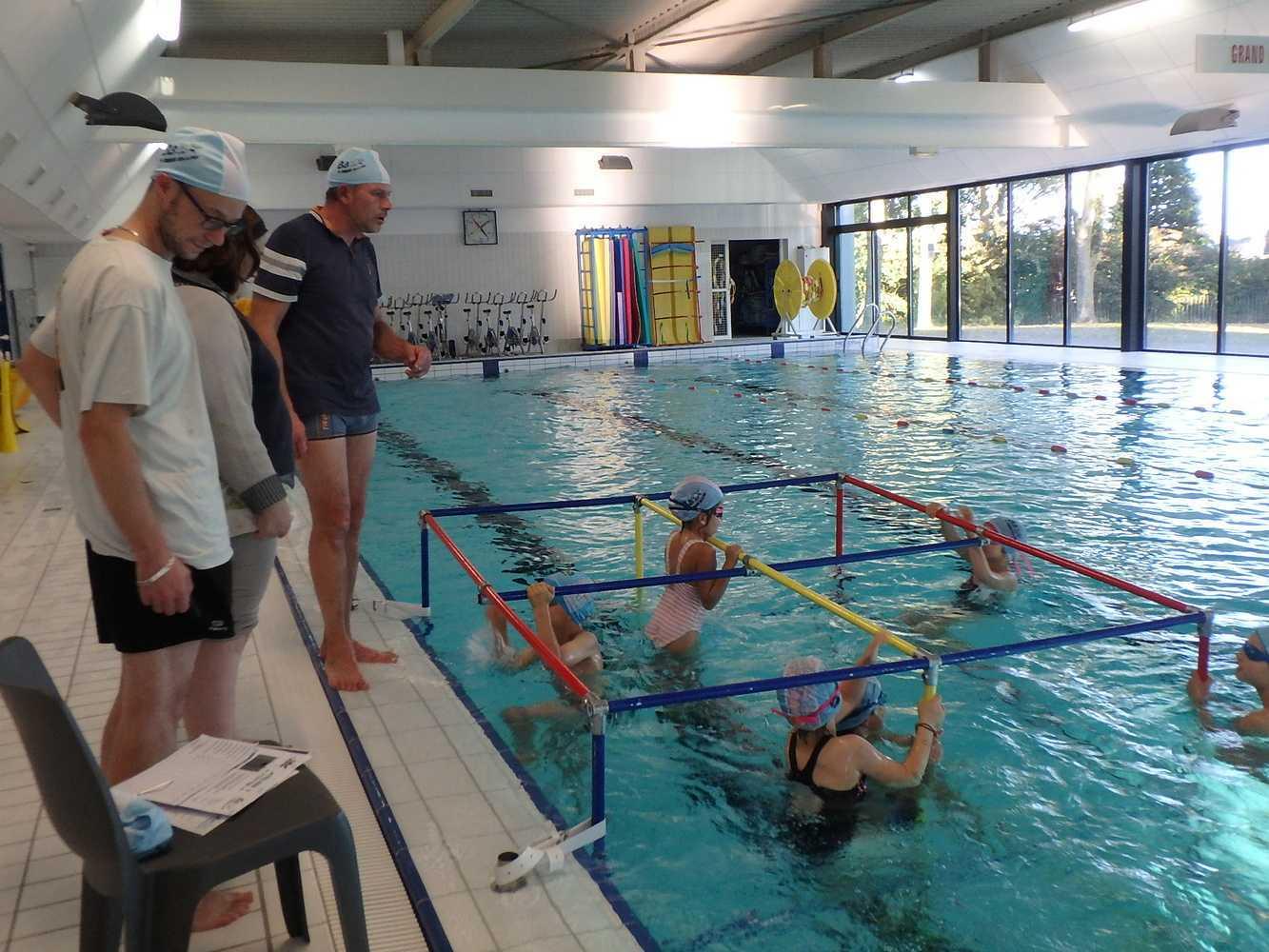 Rencontre sportive inter-groupe de la section des nageurs 0